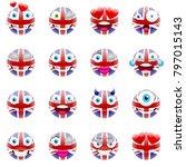United Kingdom Flag Emojis....