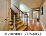 light taupe interior with... | Shutterstock . vector #797023618