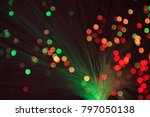 magical holiday bokeh lights... | Shutterstock . vector #797050138