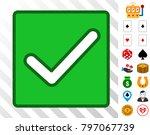 valid checkbox icon with bonus...