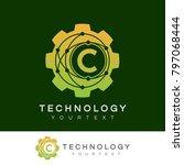 technology initial letter c... | Shutterstock .eps vector #797068444
