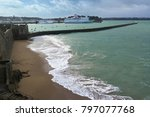 saint malo  france   march 26... | Shutterstock . vector #797077768