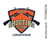 shooting logo with text space... | Shutterstock .eps vector #797088196