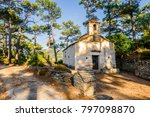 holy old greek agios stone... | Shutterstock . vector #797098870