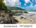 cape tribulation in tropical... | Shutterstock . vector #797100670