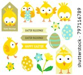 Cute Yellow Easter Chicks...