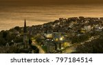 ventnor  isle of wight at dusk | Shutterstock . vector #797184514