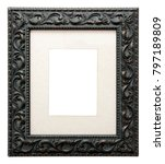 Empty Picture Frame Isolated O...