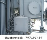 electrical substation details.... | Shutterstock . vector #797191459