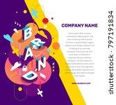 vector creative concept... | Shutterstock .eps vector #797191834