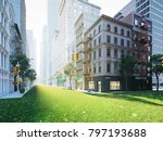 3d rendering. the ecologically... | Shutterstock . vector #797193688