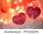 playful nostalgic mood with... | Shutterstock . vector #797203294