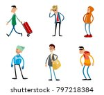 vector illustration of... | Shutterstock .eps vector #797218384