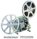 a movie projector is an opto... | Shutterstock . vector #797219290