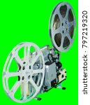 a movie projector is an opto...   Shutterstock . vector #797219320