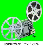 a movie projector is an opto... | Shutterstock . vector #797219326