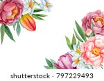 Decorative Card With Place For...