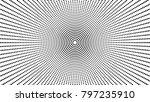halftone dot circular... | Shutterstock .eps vector #797235910