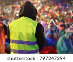 security guard during the event ... | Shutterstock . vector #797247394