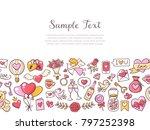 background template for... | Shutterstock .eps vector #797252398