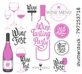 vector illustration with labels ...   Shutterstock .eps vector #797253718