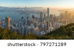hong kong  land of skyscraper | Shutterstock . vector #797271289