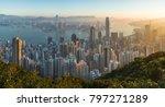 hong kong  land of skyscraper | Shutterstock . vector #797271289
