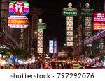 19 january 2018   bangkok... | Shutterstock . vector #797292076