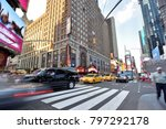new york city  usa   aug. 26 ... | Shutterstock . vector #797292178