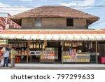 vintage asian grocery   Shutterstock . vector #797299633