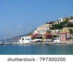 assos city kefalonia | Shutterstock . vector #797300200