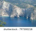 assos city kefalonia | Shutterstock . vector #797300218