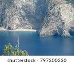 assos city kefalonia | Shutterstock . vector #797300230