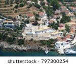 assos city kefalonia | Shutterstock . vector #797300254