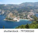 assos city kefalonia | Shutterstock . vector #797300260