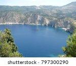 assos city kefalonia | Shutterstock . vector #797300290