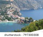 assos city kefalonia | Shutterstock . vector #797300308