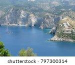 assos city kefalonia | Shutterstock . vector #797300314