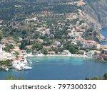 assos city kefalonia | Shutterstock . vector #797300320