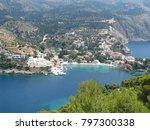 assos city kefalonia | Shutterstock . vector #797300338