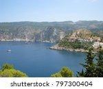 assos city kefalonia | Shutterstock . vector #797300404