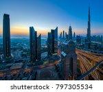 downtown dubai cityscape   Shutterstock . vector #797305534
