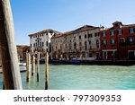 wonderful city of murano ... | Shutterstock . vector #797309353