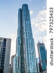 a view of skyscraper | Shutterstock . vector #797325433