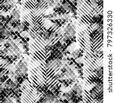 seamless pattern wild design.... | Shutterstock . vector #797326330