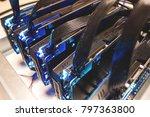 video cards. computer... | Shutterstock . vector #797363800