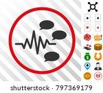 gossip generation signal gray... | Shutterstock .eps vector #797369179