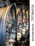 new alloy wheels | Shutterstock . vector #797386918