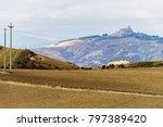 scenarios of the basilicata... | Shutterstock . vector #797389420