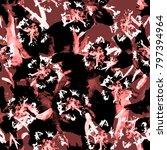 tie dye textile seamless.... | Shutterstock . vector #797394964